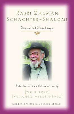 Rabbi Zalman Schachter Shalomi