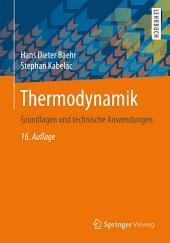 Thermodynamik: Grundlagen und technische Anwendungen, Ausgabe 16