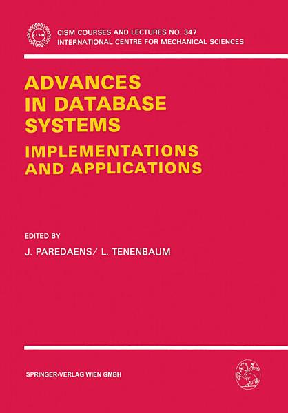 Download Advances in Database Systems Book