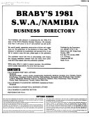 Braby s     S W A  Namibia Business Directory PDF