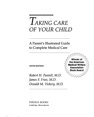 Taking Care Of Your Child 6E PDF