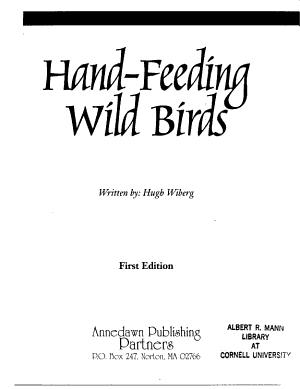 Hand feeding Wild Birds PDF