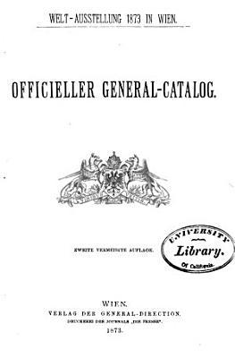 Officieller general catalog PDF