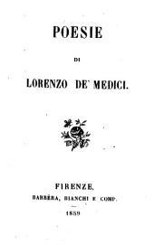 Poesie di Lorenzo de' Medici