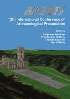 AP2017  12th International Conference of Archaeological Prospection PDF