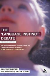 The 'Language Instinct' Debate