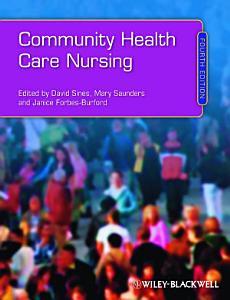 Community Health Care Nursing Book