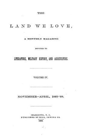 The Land We Love PDF