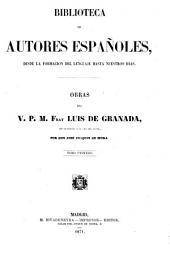 Obras del V.P.M. Fray Luis de Granada
