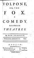 Volpone  or  The fox  Catiline his conspiracy  Bartholomew Fair  Sejanus his fall PDF