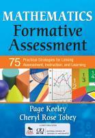 Mathematics Formative Assessment  Volume 1 PDF