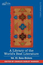 A Library of the World's Best Literature - Ancient and Modern - Vol. XI (Forty-Five Volumes); Dana-Dickens