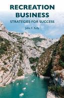 Recreation Business Book