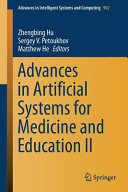 Advances in Artificial Systems for Medicine and Education II PDF