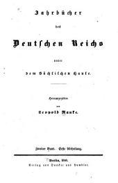 Jahrbücher des Deutschen Reichs unter der Herrschaft Kaiser Ottos II.