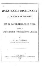 A Zulu-Kafir Dictionary