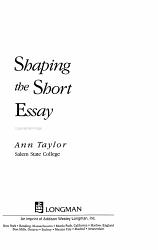 Shaping the Short Essay PDF