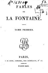 Fables de La Fontaine: Volume 1