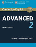 Cambridge English Advanced 2 Student s Book with answers PDF