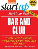 Start Your Own Bar and Club PDF