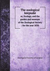 The zoological keepsake