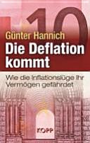Die Deflation kommt PDF