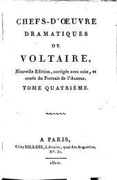 Bibliothèque des théâtres: Voltaire