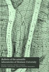 Bulletin of the Scientific Laboratories of Denison University: Volume 14