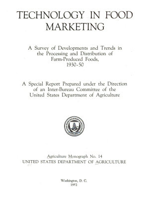 Agriculture Monograph