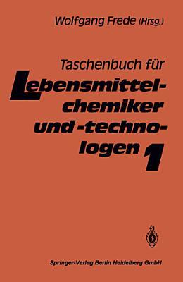 Taschenbuch f  r Lebensmittelchemiker und  technologen PDF