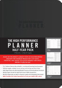 The High Performance Planner Half year Pack Book