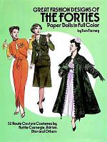 Great Fashion Designs of the Forties Paper Dolls PDF