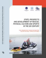 State  Prospects and Development of Rescue  Physical Culture and Sports in the Xxi Century PDF