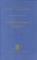 Universitas studii Tuwingensis PDF