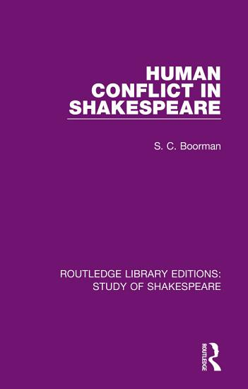 Human Conflict in Shakespeare PDF