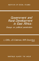 Government and Rural Development in East Africa PDF
