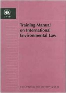 Training Manual on International Environmental Law PDF