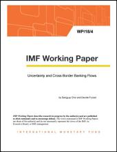 Uncertainty and Cross-Border Banking Flows