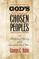God s Almost Chosen Peoples PDF