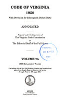 Code of Virginia  1950 PDF
