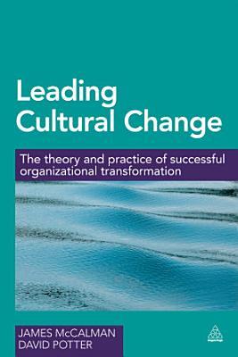Leading Cultural Change PDF