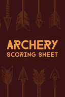 Archery Scoring Sheet