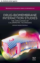 Drug–biomembrane interaction studies: 10. Antimicrobial agents