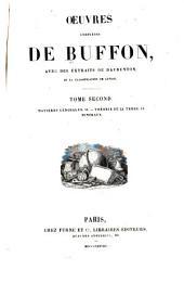 Oeuvres completes de Buffon: avec des extraits de Daubenton et la classification de Cuvier, Volume2