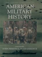The Oxford Companion to American Military History PDF
