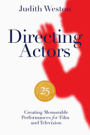 Directing Actors   25th Anniversary Edition Book