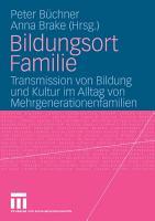 Bildungsort Familie PDF