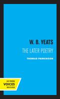 W  B  Yeats PDF