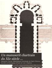 Un manuscrit chartrain du XIe siècle ...