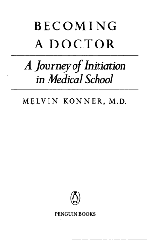 Becoming a Doctor